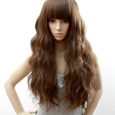 ☆雙兒網☆高仿真超自然整頂假髮【MA114】蜜糖女孩超修臉泡麵頭