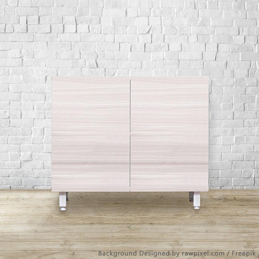 【悠室屋】森林立方-小雙門系統收納櫃 居家收納家俱