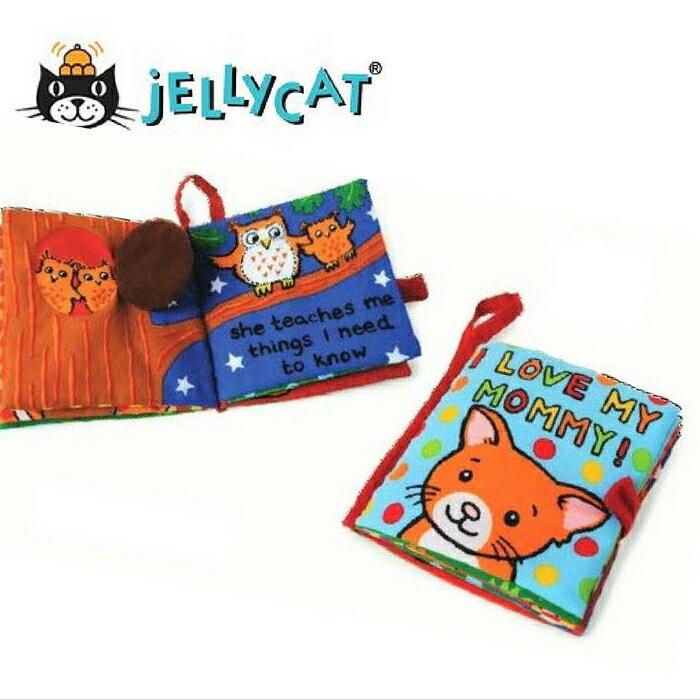 ★啦啦看世界★ Jellycat 英國玩具 / 我愛媽咪 感官刺激布書 彌月禮 出生禮 月子 共讀 嬰兒 寶寶 閱讀 出生 $630