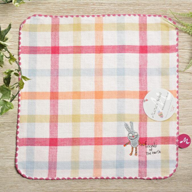 日本今治 - KONTEX - Duo方巾(粉)《日本設計製造》