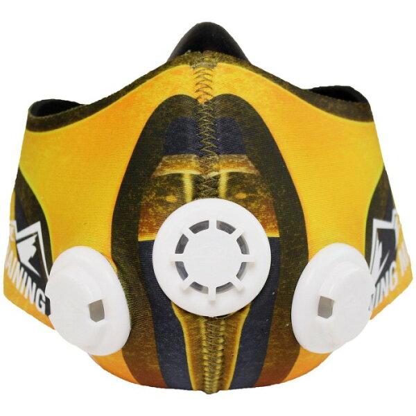 [古川小夫]公司貨-肺活量訓練馬拉松~MMA訓練高海拔面罩TrainingMask忍者面罩皮~真人快打-Msize