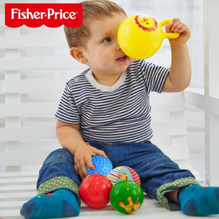 ~寶貝樂園~FisherPrice 費雪4寸兒童早教感統訓練球