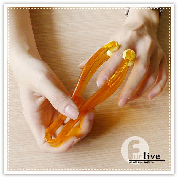 【aife life】手指滾輪按摩棒/手指關節按摩器/虎口滾輪按摩器/穴道按摩/腳趾按摩