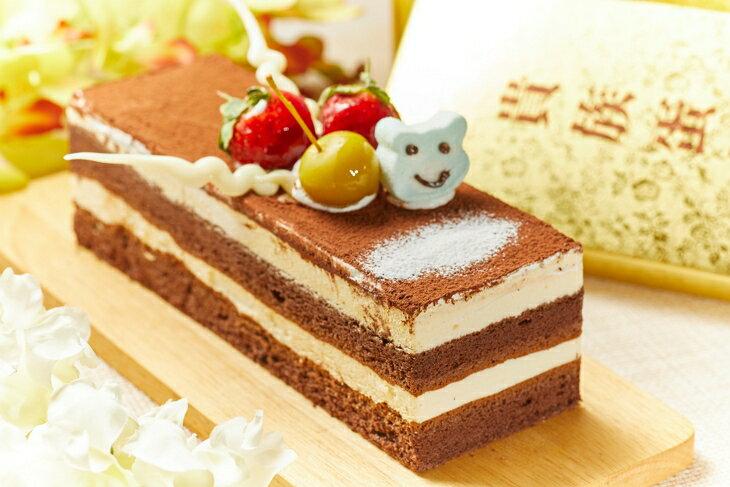 歐式提拉米蘇19x6x6cm  彌月蛋糕