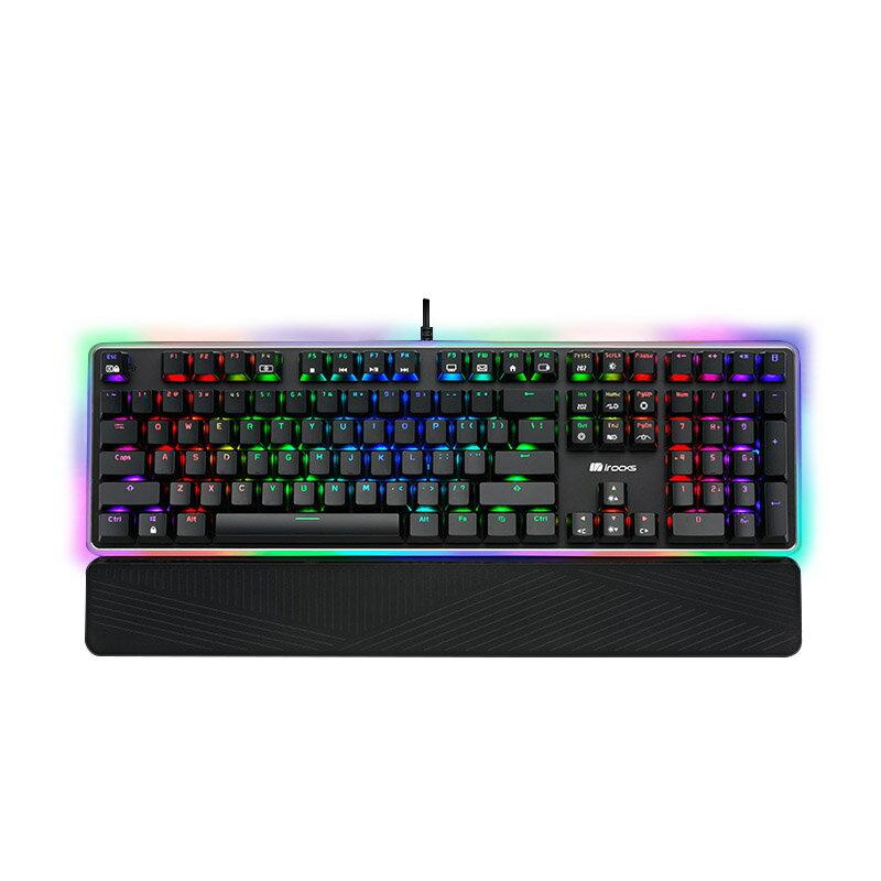 [免運速出] I-Rocks 艾芮克 K61M RGB 高特軸 機械鍵盤 電競鍵盤 青軸 紅軸 茶軸 PCHot