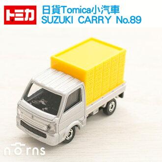NORNS【日貨Tomica小汽車 SUZUKI CARRY No.89 】青果店 蔬菜貨車 鈴木 小卡車