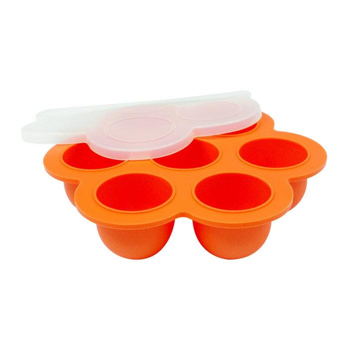 【EG Home 宜居家】七格矽膠製冰分裝盒 1