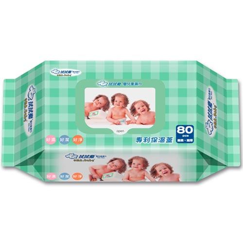 拭拭樂 嬰兒濕巾 80抽
