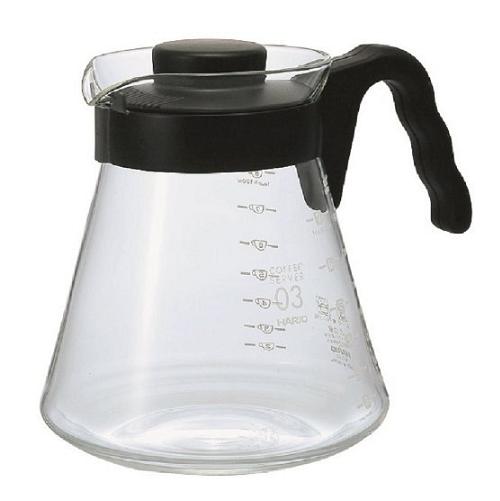 【百倉日本舖】日本製 HARIO V60咖啡壺/耐熱玻璃壺/玻璃咖啡壺/微波玻璃壺/泡茶壺1000ml