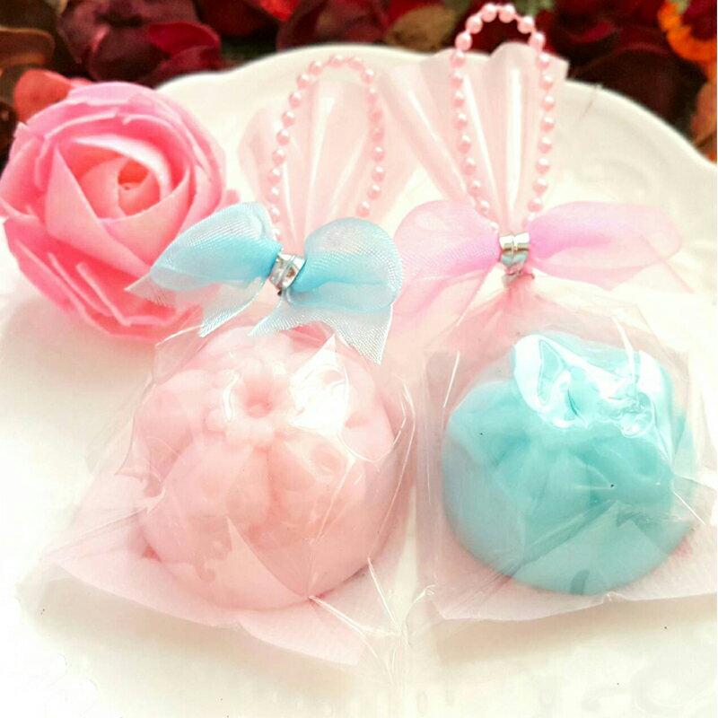 婚禮小物-櫻花和菓子手工香皂(一入裝) 甜點皂/節日禮品【棠逸手作皂 】