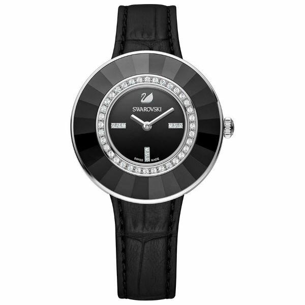 Swarovski 施華洛世奇 Octea Dressy Black  晶圈腕錶  518