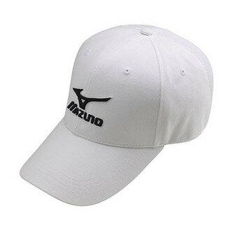 MIZUNO 美津濃 MCLINE 透氣 棉布 棒球帽 32TW760401 ( 白 ) [陽光樂活]