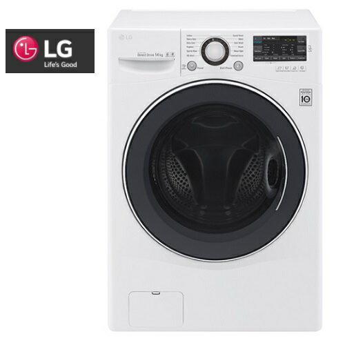 集雅社影音家電旗艦館:含基本安裝LG樂金14公斤變頻滾筒洗衣機F2514NTGW公司貨