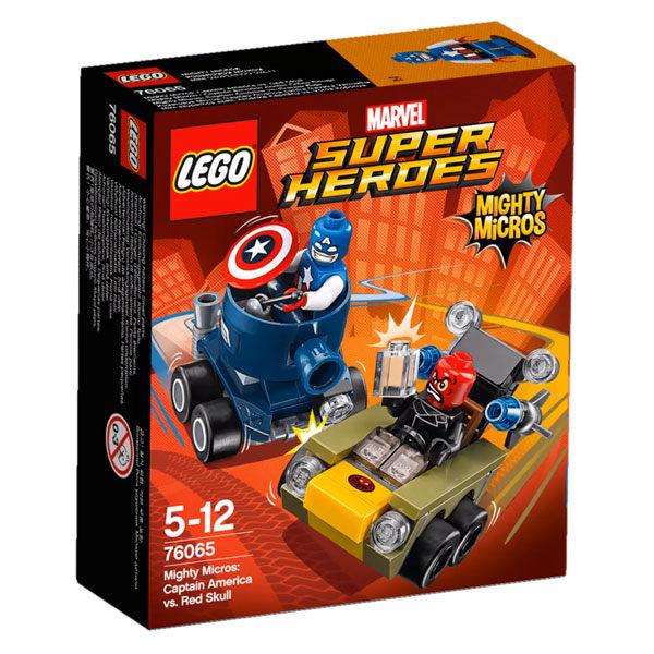 【LEGO 樂高積木】SuperHeros系列-美國隊長vs.紅骷髏 LT-76065