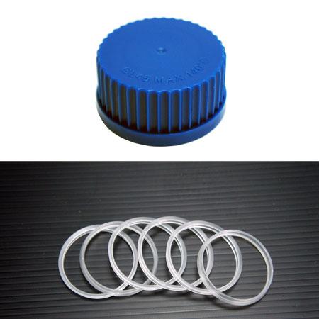 DGLife 德記生活網:《DGS》廣口血清瓶蓋環GL45Cap,Screwthread,GL-45