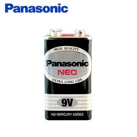 文五雙全x文具五金生活館:國際牌9V電池PANASONIC環保黑色乾電池(9V)1入組