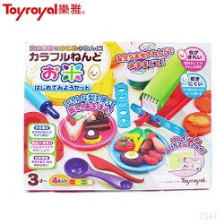 樂雅 Toyroyal 米黏土系列-開心甜點組