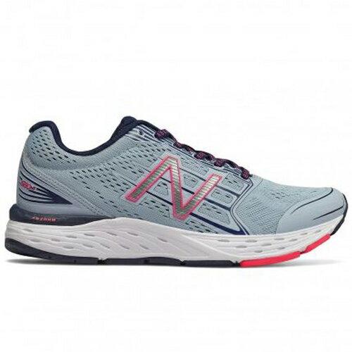 NewBalance女鞋慢跑透氣網布耐磨輕量吸震藍【運動世界】W680CG5