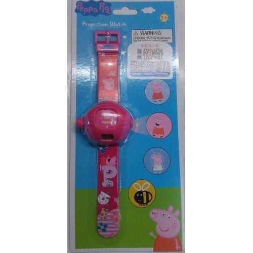 ★衛立兒生活館★【Peppa Pig】粉紅豬小妹 投影手錶-珮珮(5種經典圖片)VP37053