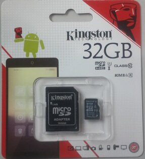 Kingston金士頓MicroSDSDC1032GBCLASS10記憶卡【風雅小舖】
