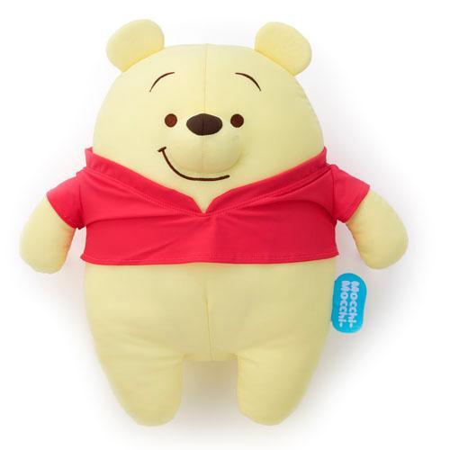 日本代購預購 迪士尼 小熊維尼 維尼熊 mocchi-mocchi M號 清涼觸感 娃娃玩偶抱枕 747-294