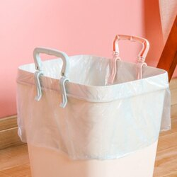 ●MY COLOR●垃圾袋防滑固定夾 家用 創意 垃圾桶 防滑夾 卡扣桶邊沿固定器 帶提手夾子【N445】