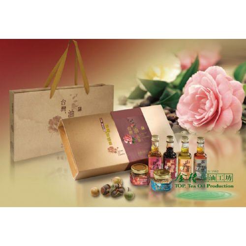 客家茶油禮盒(台灣,油‧山茶)