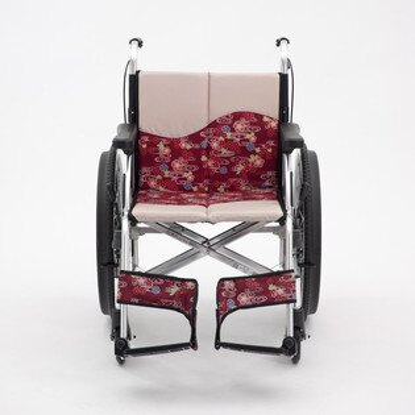 """全勝醫療保健快速購:""""三大均""""機械式輪椅(未滅菌)日本MIKI鋁合金輪椅MPR-1DX櫻花系列"""