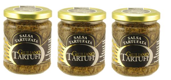 綠橄欖生活館:奇里安諾黑松露醬180gX3罐-綠橄欖生活館