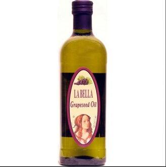 LA BELLA 義大利特級葡萄籽油 1000ml/瓶 原價$359 特價$340