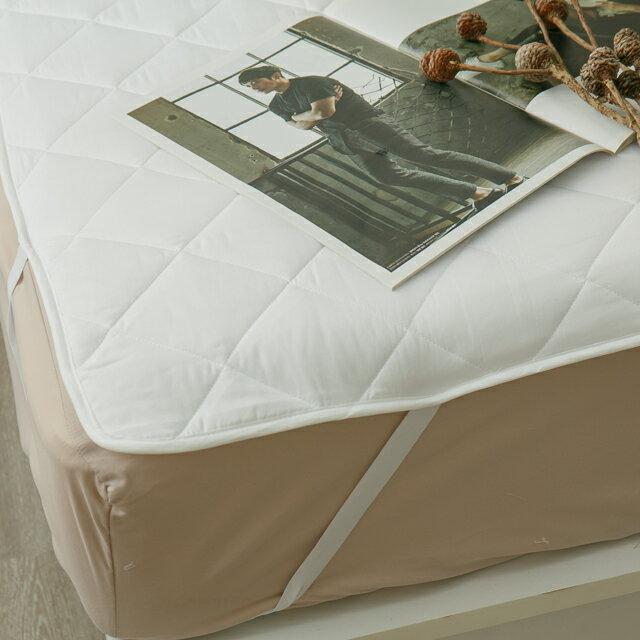 雙人加大  平單式保潔墊 抗菌防污 台灣製 厚實鋪棉 2
