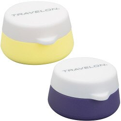 《TRAVELON》旅用小物收納盒(黃紫)