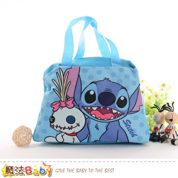 便當袋迪士尼史迪奇授權正版提袋魔法Baby~f0283
