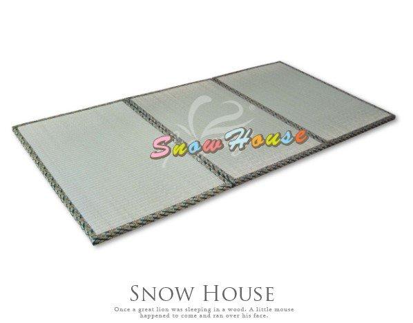 ╭☆雪之屋居家生活館☆╯P409-012*3尺組合式藺草榻榻米記憶床墊床墊