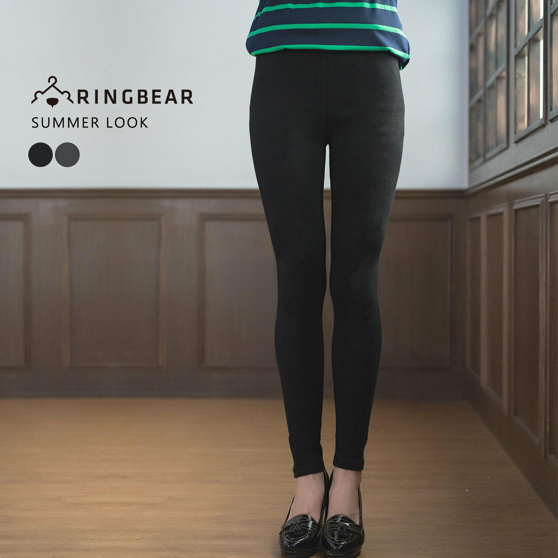 內搭褲---性感褲管金蔥拉鍊刺繡極貼身彈性九分褲(黑.灰XL-3L)-R191眼圈熊中大尺碼