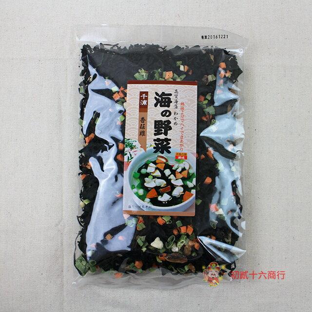 【0216零食會社】千浦海帶芽(香菇雞)100g