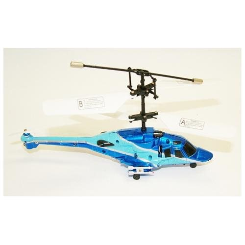 Microgear Infrared Remote Control 3 Channel Blue Helicopter 0