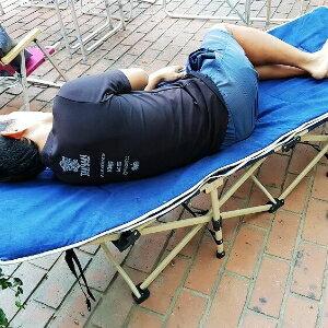 美麗大街【S106112207】高質感方便攜帶加寬行軍床折疊床