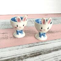鄉村風zakka雜貨到|絕版特賣|鄉村風 手繪兔子蛋托|現貨|