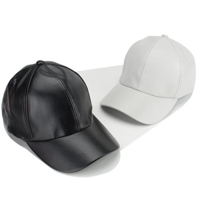 50^%OFF~E015533H~ 純色光板PU嘻哈卷邊皮質棒球帽潮男女士 遮陽鴨舌帽子