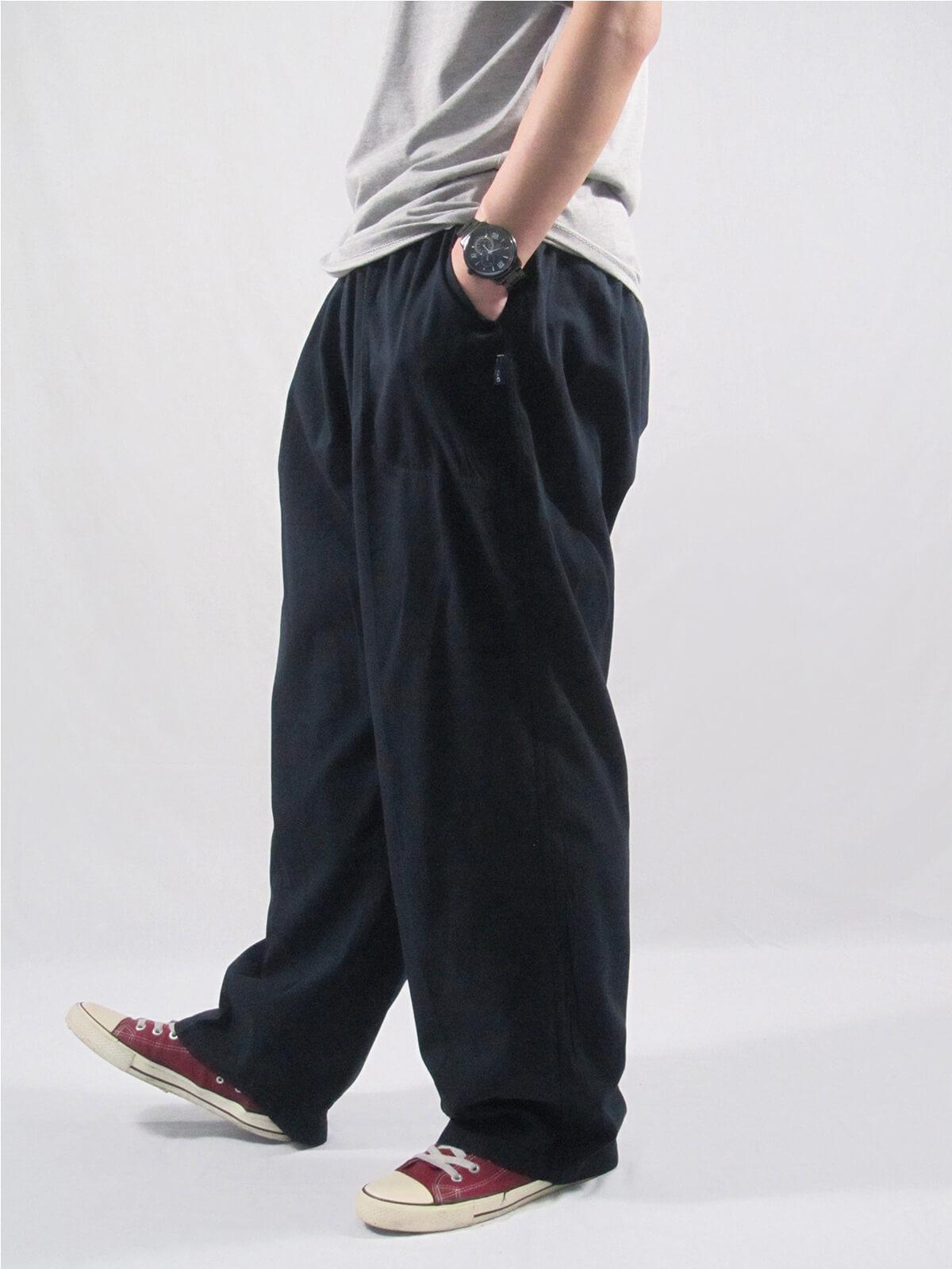 加大尺碼手染酵素洗休閒褲 台灣製休閒長褲 棉100%大尺寸長褲 棉質長褲 黑色長褲 BIG&TALL PANTS (020-0218-08)深藍色、(020-0218-11)軍綠色、(020-0218-16)卡其色、(020-0218-21)黑色、(020-0218-22)灰色 尺寸3L 5L(腰圍:36~50英吋) [實體店面保障] sun-e 4