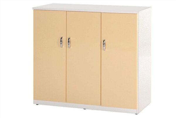 【石川家居】858-05(鵝黃白色)鞋櫃(CT-315)#訂製預購款式#環保塑鋼P無毒防霉易清潔