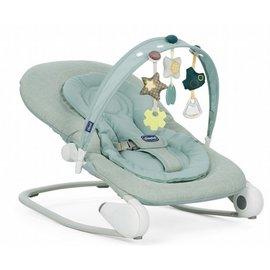 【淘氣寶寶】Chicco Hoopla可攜式安撫搖椅 薄荷綠【原廠公司貨】