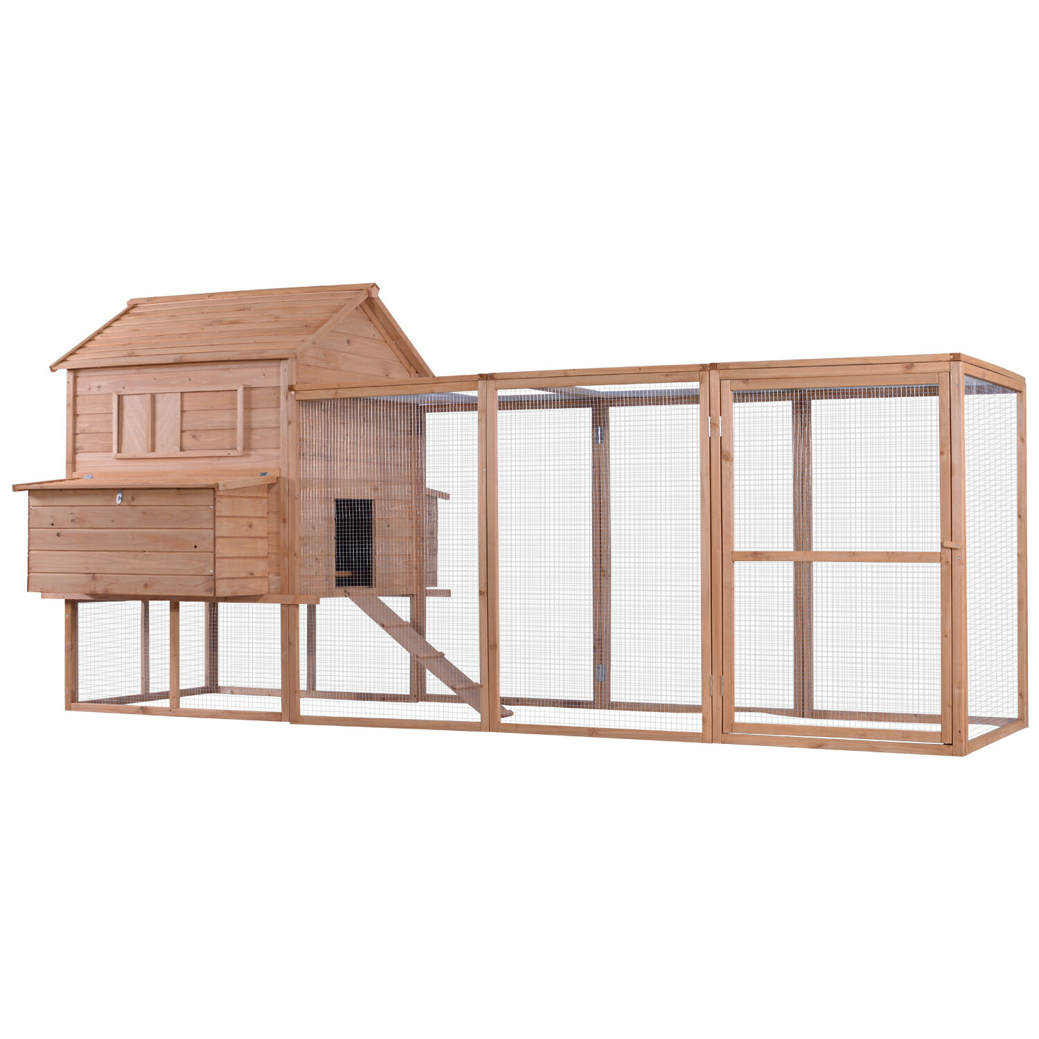 mcombo: Lovupet Chicken Poultry Rabbit Pet Coop Hen house Hutch Cage ...
