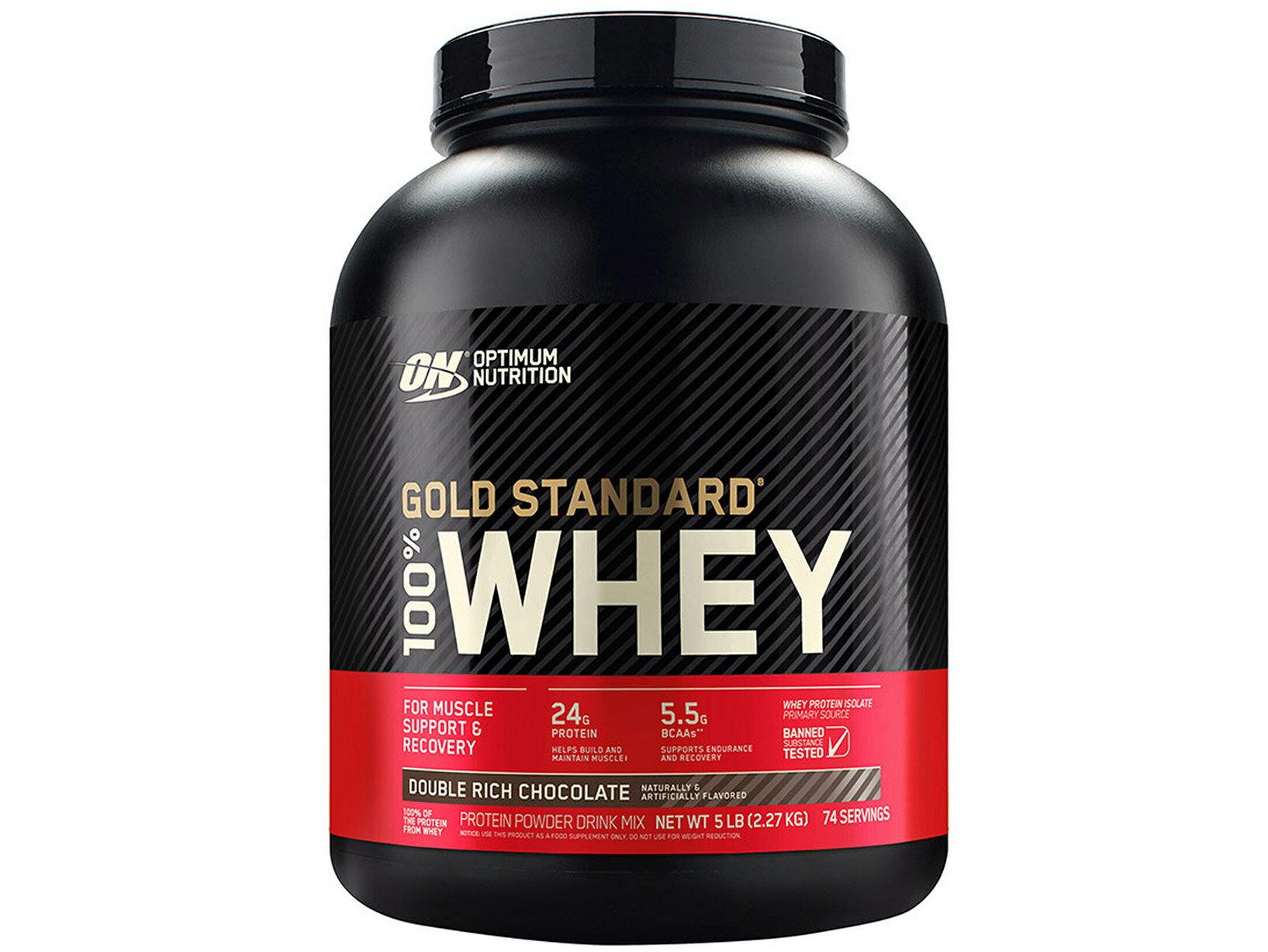 【GNC健安喜】ON 100%乳清蛋白飲品-巧克力口味 5磅