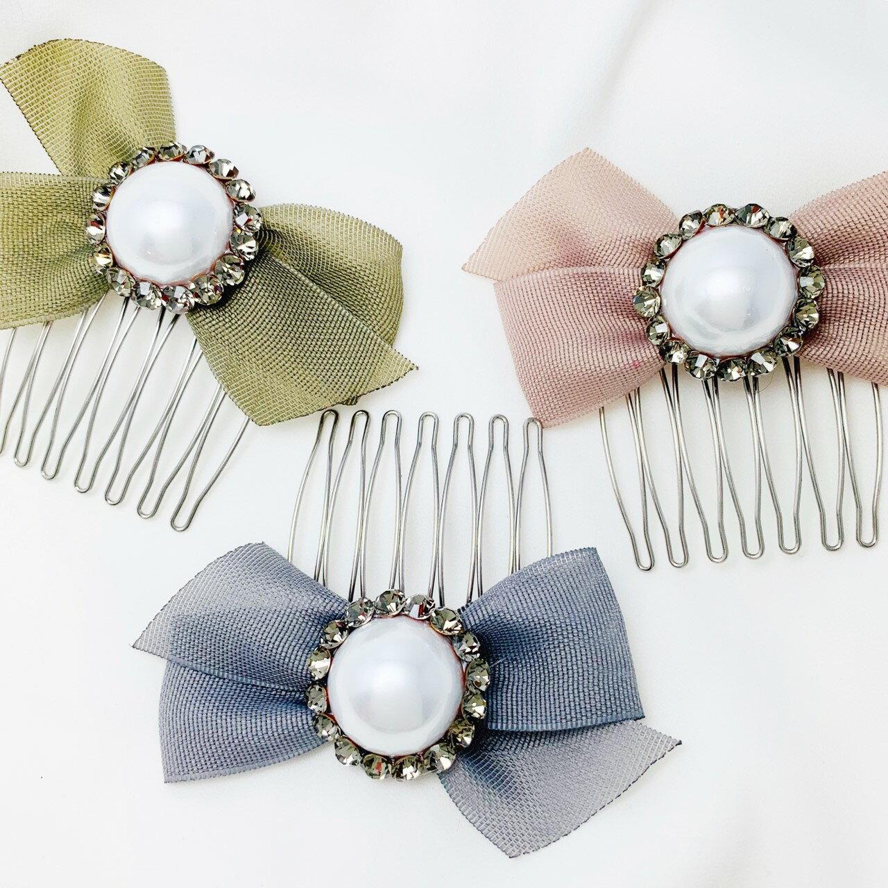 美人魚珍珠系列插梳 / 髮叉