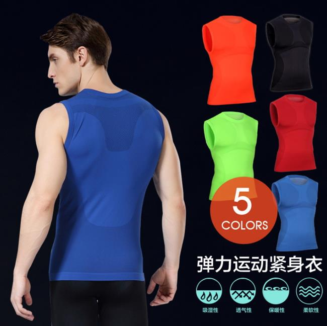 50%OFF SHOP【AD021858C】塑身塑型衣輕壓舒適透氣速乾衣緊身運動背心-單車跑步瑜伽健身減肥瘦身
