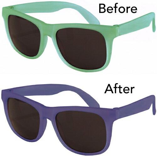 美國RKS閃耀變色框4-7歲太陽眼鏡藍綠RKS4-01516★衛立兒生活館★