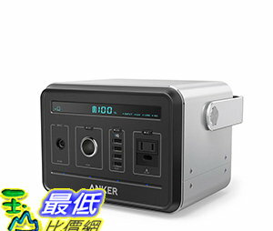 <br/><br/> [106美國直購] Anker PowerHouse, Compact 400Wh/120,000mAh Portable Generator Alternative便攜式發電機<br/><br/>