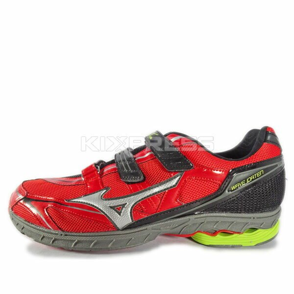 Mizuno Wave Idaten Dyna BT [J1GA148905] 女鞋 運動 走路 跑步 避震 美津濃 紅 0